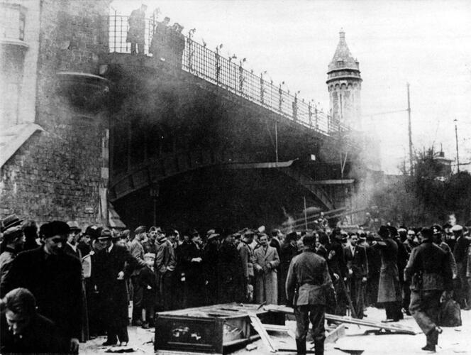 Violence against Jews on Easter Monday 1941